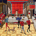 Banquet, 15th Century by Granger