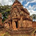 Banteay Srei Mandapa Sanctuary - Cambodia by Art Phaneuf