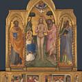 Baptism Altarpiece by PixBreak Art