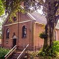 Baptist Church In Giethoorn. Netherlands by Jenny Rainbow