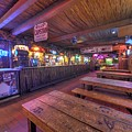 Bar At The Dixie Chicken by David Morefield