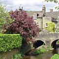 Bar Brook And Bridge by Rod Johnson