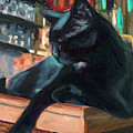 Bar Cat by Billie Colson