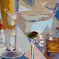 Bar Drinks by David Lloyd Glover