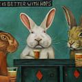 Bar Hopping by Leah Saulnier The Painting Maniac