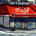 Bar Les 3 Quartiers by James Nyika