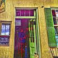 Bar Scene French Quarter New Orleans by Rebecca Korpita