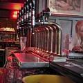 Bar Taps In Kilkenny by Rosanne Licciardi