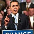 Barack Obama On Stage For Barack Obama by Everett