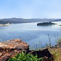 Baranaby Island Lake Roosevelt by Charles Robinson