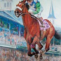 Barbaro - Horse Of The Nation by Leisa Temple