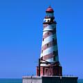White Shoal Lighthouse by Jeff Kurtz