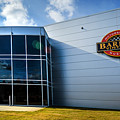 Barber Motorsports Museum Sign In Birmingham Alabama by Michael Thomas