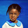 Barbuda School Girl by Fiona Jack