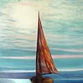 Barca Al Chiar Di Luna by Piero C