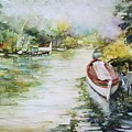 Barcas En La Albufera II by Vivian  Castillo M