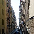 Barcelona Calle Beige by Michel Poulin