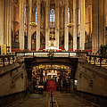 Barcelona Cathedral High Altar And St Eulalia Crypt by Artur Bogacki