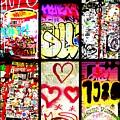 Barcelona Graffiti Wall  by Funkpix Photo Hunter