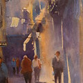 Barcelona Shadows by Margaret Kent