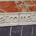 Barcelona Spain Metro Sign by Toby McGuire