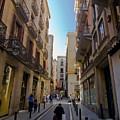 Barcelona Street Scene by Sven Brogren