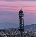 Barcelona Sunset by John Greim