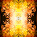 Barely Contained Excitement Abstract Organic Bliss Art By Omaste by Omaste Witkowski