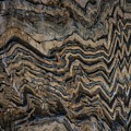 Bargello Geologic Wall In Kings Canyon by NaturesPix