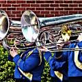 Baritone Horns And Trombones by Susan Savad