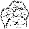 Bark Bark - Cute Dogs by Karl Addison