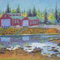 Barkhouse Boatsheds by Rae  Smith