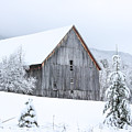 Barn After Snow by Tim Kirchoff