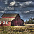 Barn After Storm by Jim And Emily Bush