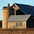 Barn At 57 And Q by Tim Nyberg
