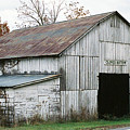 Barn At Clover Bottom by George Ferrell