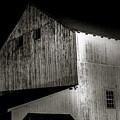 Barn At Night by David Rucker