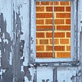 Barn Brick Window by Tim Allen