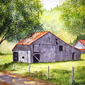 Barn By The Road by Julia RIETZ