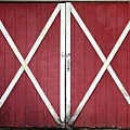 Red Barn Doors by Sheila Brown