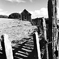 Barn Fence by Norman Andrus