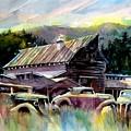 Barn Fresh Cabriolets by Ron  Morrison