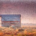 Barn In Early Light  by Larry Braun