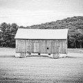 Barn In Meadow by Keith Kadwell