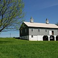 Barn In The Country - Bayonet Farm by Angie Tirado