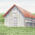 Barn Near Forest by Matthew Ledbetter