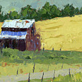 Barn On The Slope by David King