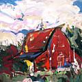 Barn One by John Jr Gholson