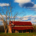 Red Roof Barn 2 by Dave Bosse