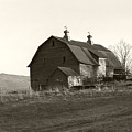Barn Vermont Horizontal by Heather Kirk